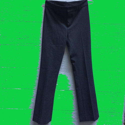 Pantalon De Vestir. Invierno. Gris Oscuro.