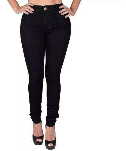 10 Calça Jeans Feminina Cintura Alta Hot Pant Anita Pani