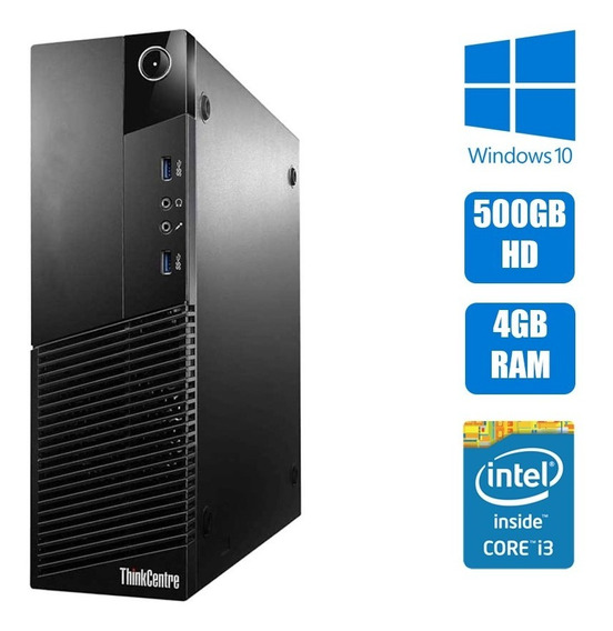 Computador Pc Desktop Lenovo Thinkcentre M83 I3 4ª Geração