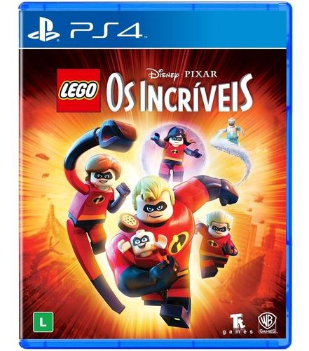 Ps4 Lego The Incredibles Incríveis Mídia Física Novo Lacrado Dublado Em Português