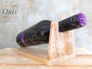 Porta Vino En Onix