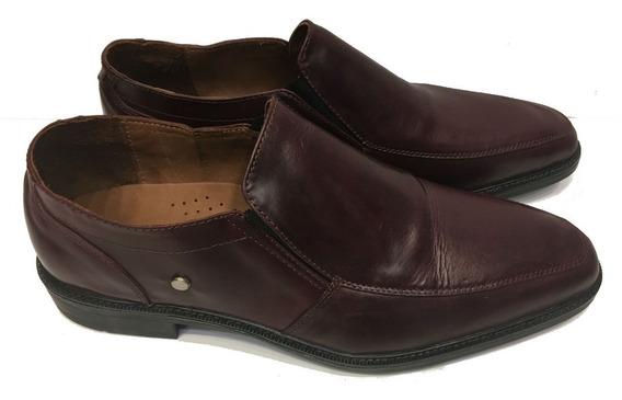 Zapato De Cuero Lustrado, Muy Elegantes