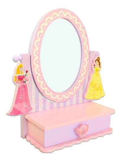 Penteadeira Espelho De Mesa Princesas - Queima Estoque