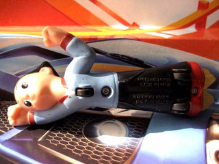 Mc Mad Car Muñecos Plastico Astroboy Astro Boy Anime Retro