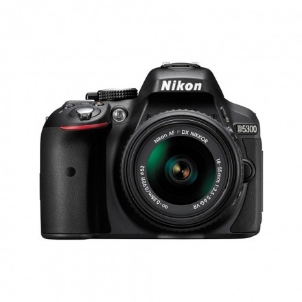 Câmera Nikon D5300 18-55mm Vr Preto