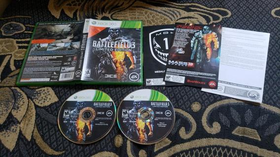 Battlefield 3 Limited Edition Original Para O Xbox 360 V44