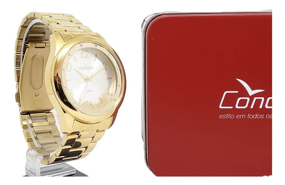 Relógio Feminino Condor Co2035kur/t4k