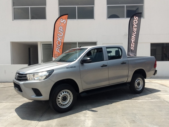 Toyota Hilux Base Std Mod 2018 2.7 Cabina Doble Mt Promo