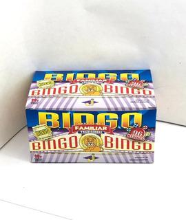 Loteria Bingo Familiar 96 Cartones Bolilla
