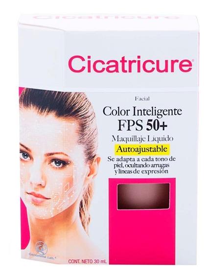 Maquillaje Cicatricure Inteligente Fps 50+ 30ml Genomma Lab