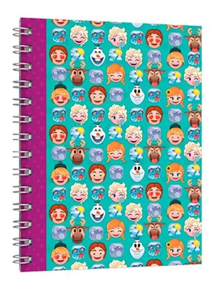 Cuaderno Universitario Tapa Flexible Disney Emoji