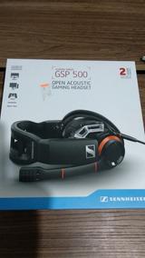 Headset Aberto Sennheiser Gsp 500, Zerado (1 Semana De Uso)