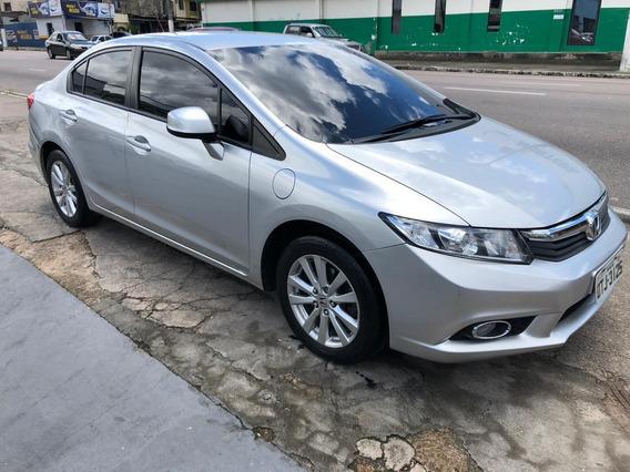 Honda Civic Lxs Prata