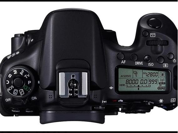 Câmera Dslr Canon 70d Corpo+ Ascessrios Originais.