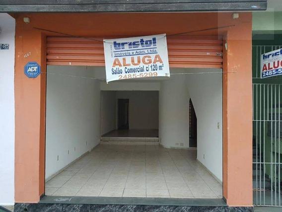 Salão Comercial Para Locação, Vila Galvão - Sl0003