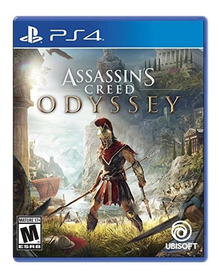 Assassins Creed Odyssey - Ps4 - Novo - Midia Física Lacrado