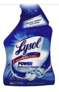 1 Lysol Desinfectante Baño Antibacterial Elimina Hongos Moho