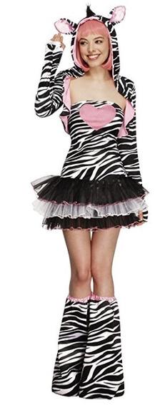 Disfraz Mujer Zebra Halloween Talla S