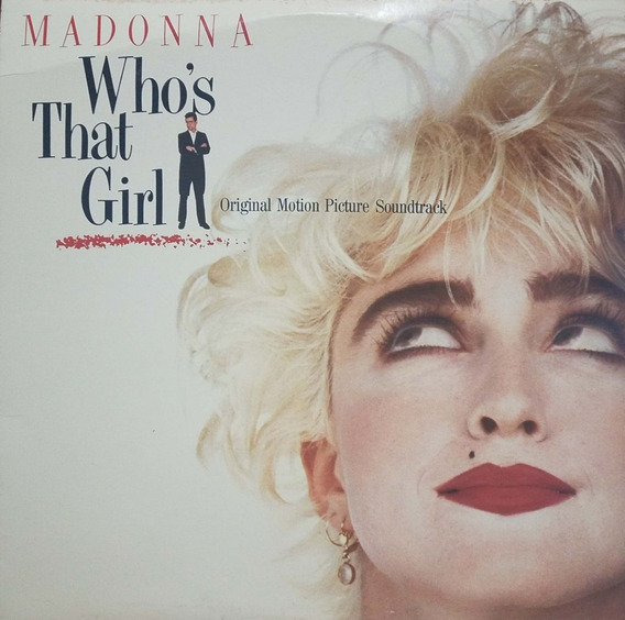 Disco Vinilo Madonna Soundtrack Who That Girl Lp Usa Todelec
