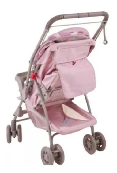 Carinho De Bebê Menina Alça Reversível Milano Galzerano