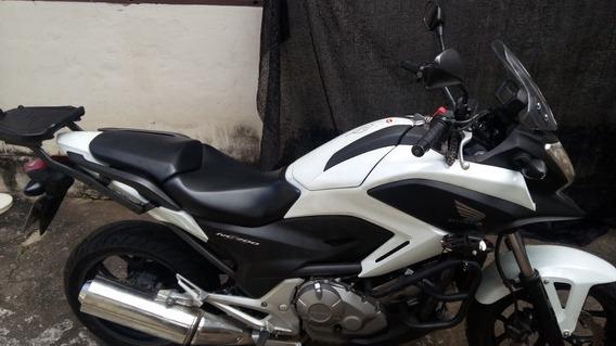 Nc 700x 2014 Apenas 15.500km Moto Zera! Aceito Troca