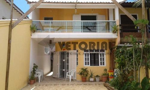 Imagem 1 de 22 de Sobrado Com 5 Dormitórios À Venda, 267 M² Por R$ 490.000,00 - Massaguaçu - Caraguatatuba/sp - So0392