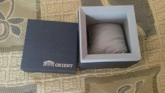 Caixa Original Nova De Relógio Orient