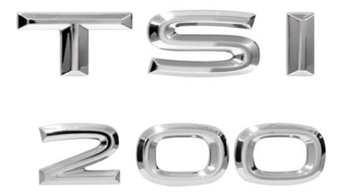 Imagem 1 de 6 de Kit Emblema T-cross  E 200 Tsi Ano 2019 Acima .../