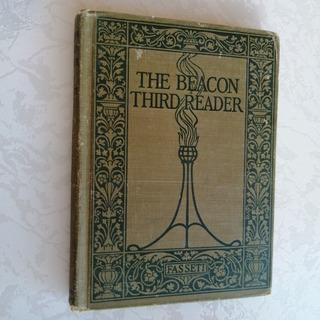 Libro Antiguo De Cuentos En Inglés 1914 The Beacon Reader