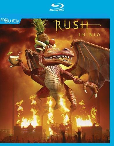 Imagen 1 de 3 de Rush Rush In Rio Blu-ray Importado Nuevo Cerrado En Stock