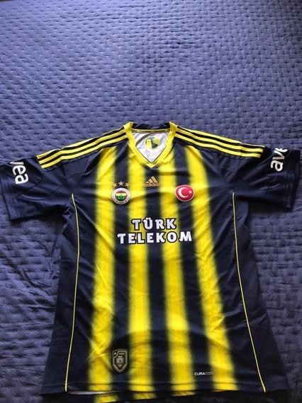 Camisa Oficial Do Fenerbahce 2011 - Xl = G - Impecável