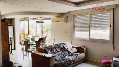 Cobertura 3 Dormitórios E 2 Vagas No Bairro Jardim Botânico - Co0101
