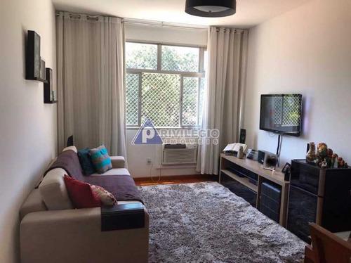 Apartamento À Venda, 2 Quartos, 1 Suíte, 1 Vaga, Botafogo - Rio De Janeiro/rj - 21967