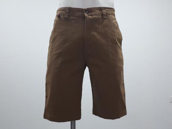 Short Bermuda Collors Couture 5432 Skinny Khaki Ajustado