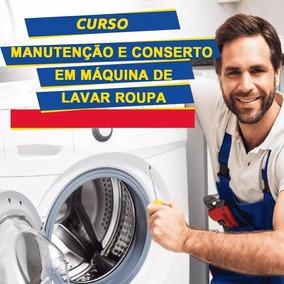 Curso Aprenda A Consertar Máquina De Lavar 5 Dvd
