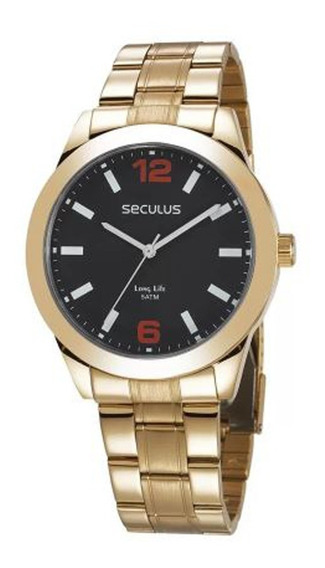 Relógio Seculus Masculino Long Life 28982gpsvda3