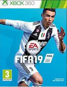 Jogo Fifa 19 Xbox 360 Mídia Fisica