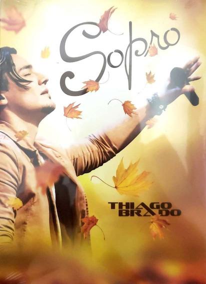 Dvd Sopro Thiago Brado