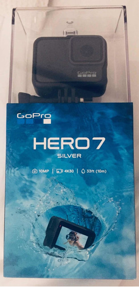 Câmera Gopro Hero 7 Silver 10 Mp 4k Wi-fi