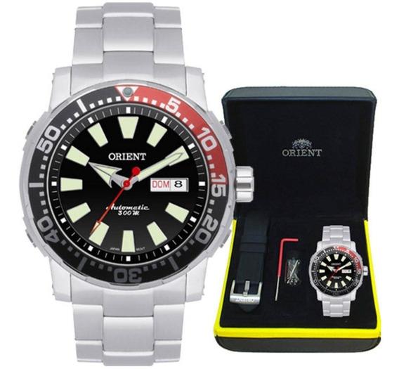 Relógio Orient Poseidon Diver Automático 469ss039 Pvsx + Brinde C/ Nfe