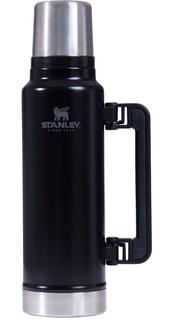Termo Stanley Clásico 1,4 Litros Negro Con Manija