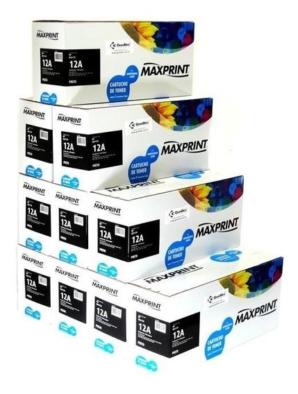 Toner Maxprint Compatível Com Q2612a Caixa Com 10 Toners