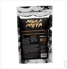 Argila Capilar Preta Com Colágeno - Mister Hair - 500g
