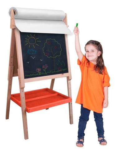 Imagen 1 de 3 de Caballete Para Pintar 3 En 1 Para Niño, Pizarrón O  Lienzo
