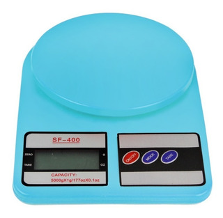 Bascula Digital Gramera 3gr A 10kg Azul Con Envio