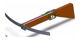 Projeto De Arma Tipo Balestra / Besta Caseira - Detalhado