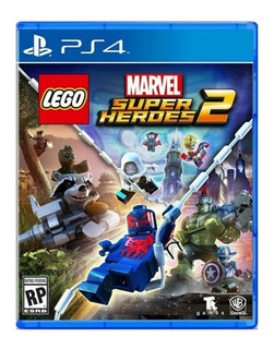 Lego Marvel Super Heroes 2 Ps4 - Juego Fisico - Prophone