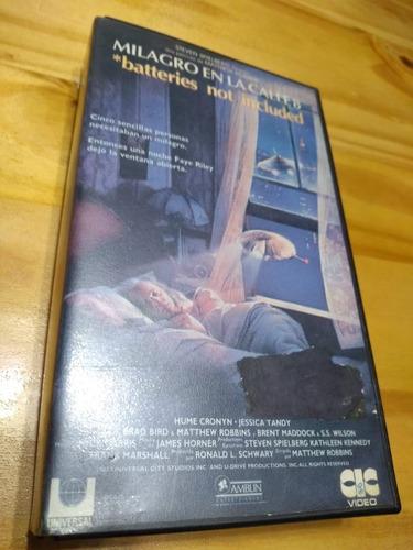 Milagro En La Calle 8 - Robbins - Spielberg - Vhs - U