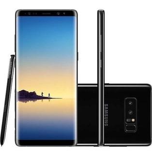 Celular Samsung Galaxy Note8 128gb Preto 6gb Ram Vitrine