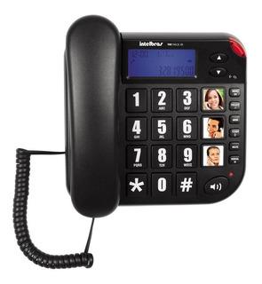 Teléfono De Mesa Intelbras Tok Facil Id